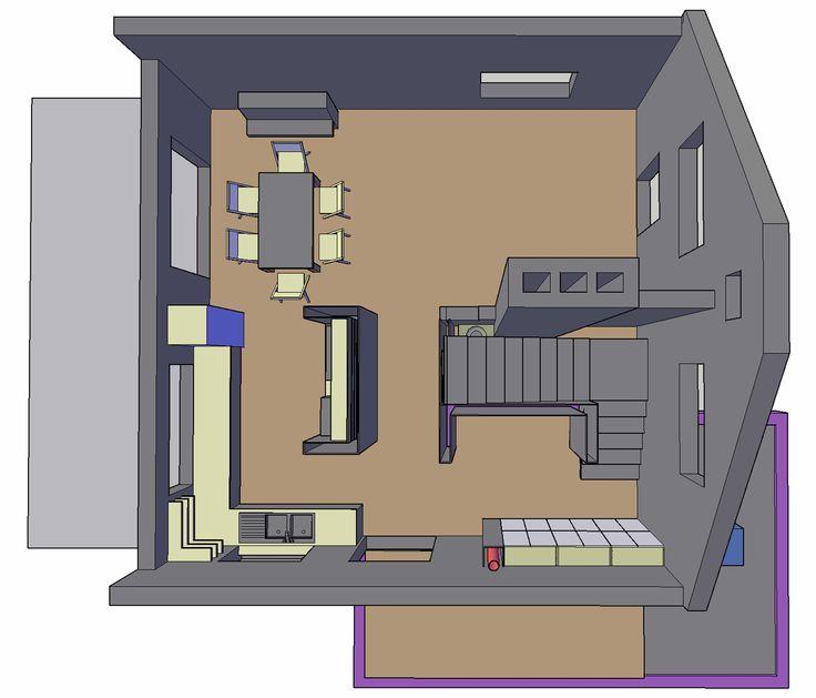 Private house design