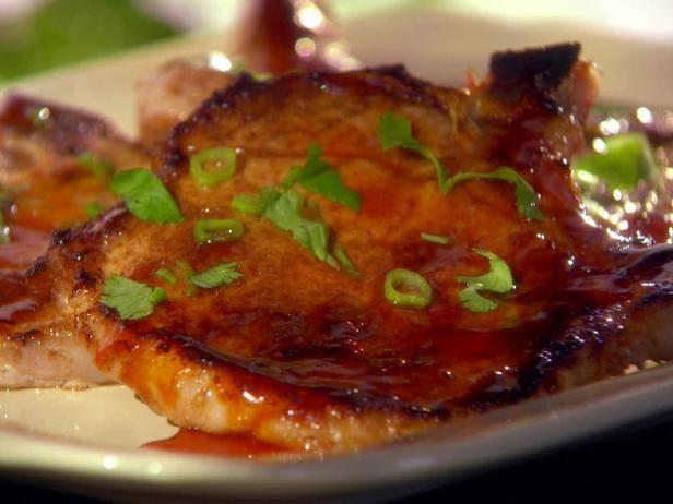 Asian Marinated Pork Chops Recipe