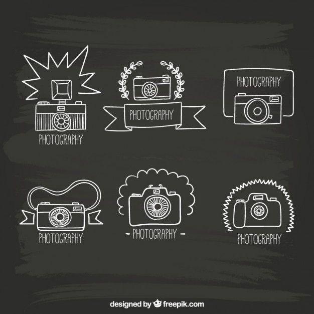 Câmeras de Desenho Vetor grátis