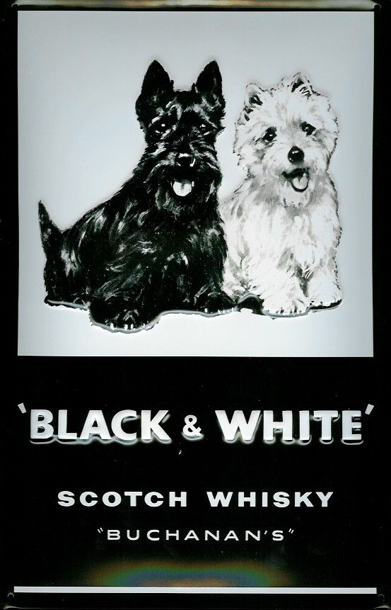 Black & White Scotch ad~ or Duffers and Pixie