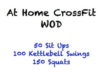 15 At Home CrossFit Workouts! #Crossfit #WODs