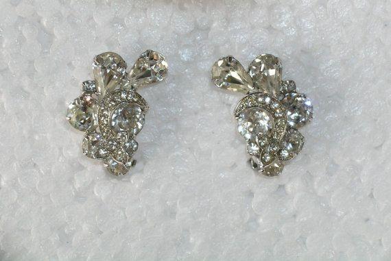 Vintage Eisenberg Ice Earrings