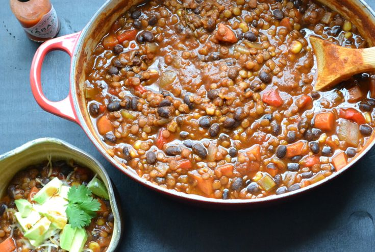 Black Bean and Lentil Chili Many years ago, a good friend of ours had a chili cook-off party. It was a blast! We all brought our own versions of chili and blindly taste-tested (blindly, in that we didn't know who's was who's…but I'm sure the margaritas had already made us somewhat blind!). It was so [...]