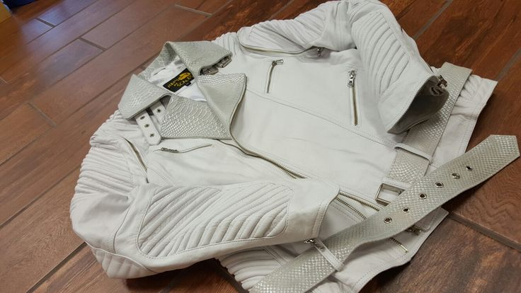 White snakeskin moto Www.repsanscales.com