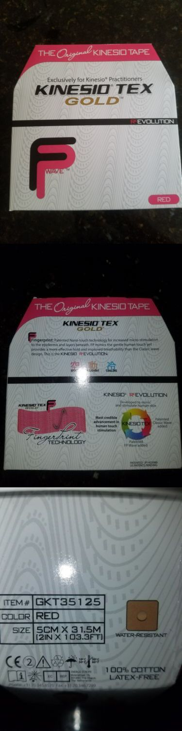 Equipment Parts and Accessories 179001: Kinesio Tex Gold Kinesiology Tape, 2In X 103.3Ft Bulk Roll. New In Box. Red -> BUY IT NOW ONLY: $57.99 on eBay!