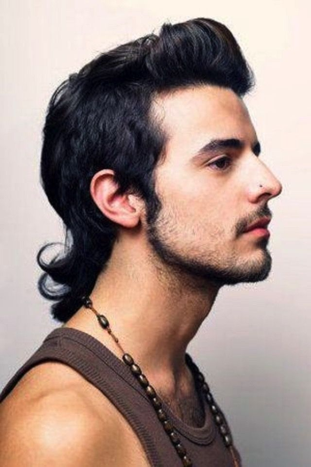Mullet Hairstyle 11 Best The Modern Mullet Hairstyles For Men Images On Pinterest