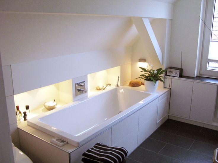 Freistehende badewanne unter dachschräge  Dachschräge sinnvoll nutzen im Bad | House | Pinterest | Körper ...