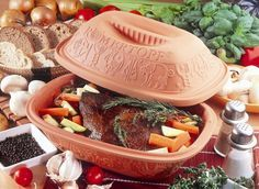 Roastbeef Roemertopf Recipe - Roemertopf is a German clay baker for all kinds of meats and vegetables similiar to a crock pot.