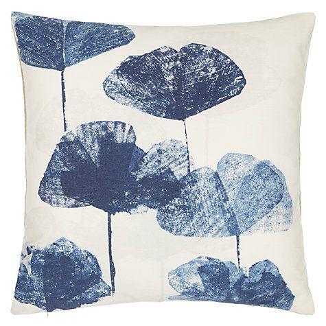 Buy John Lewis Waterlily Cushion Online at johnlewis.com