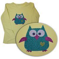 Nažehlovací folie na textil Hot Fix | Davona výtvarné návody #hotfix #bigshot #owl