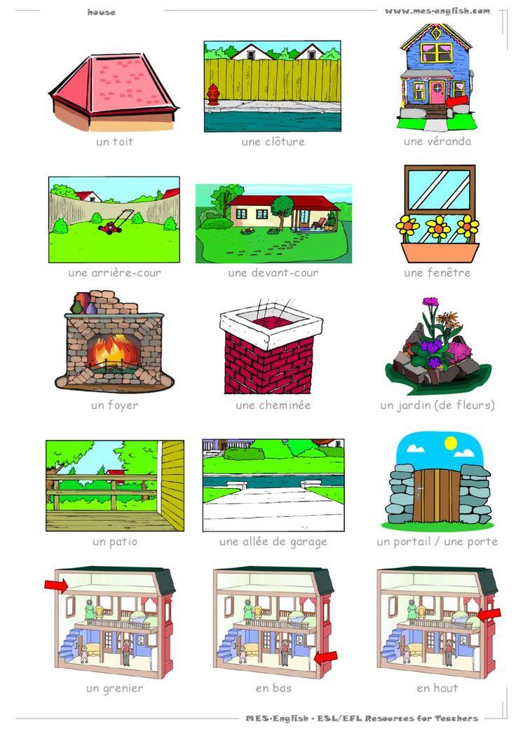 17 best images about vocabulaire la maison on pinterest