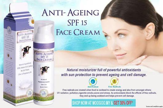 MooGoo Anti Ageing SPF 15