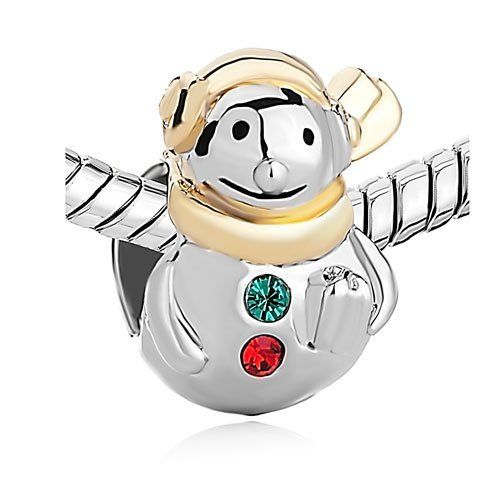 Pugster Cute Snowman Bead Fits Pandora Charm Bracelet Pugster. $12.49. Unthreaded European story bracelet design. Money-back Satisfaction Guarantee. Pugster are adding new designs all the time. Free Jewerly Box. Fit Pandora, Biagi, and Chamilia Charm Bead Bracelets