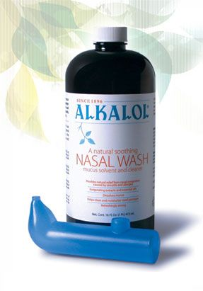 Alkalol has changed my life! Natural and SAFE relief from sinus infections and allergies!