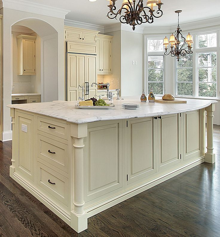 Kitchen Island Design Ideas ideas interior kitchen furniture elegant brown wooden kitchen island kitchen island design ideas Yellow Kitchen Cabinets With Large Kitchen Island Design Ideas