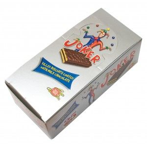 Frou Frou Joker Chocolate Coated Cream Filled Biscuits 25 pieces x 25g