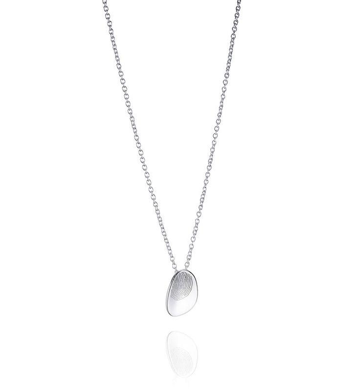 Lifeline Pendant - Silver - Pendant - Efva Attling