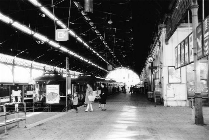 Station Den Haag StaatsSpoor (is afgebroken en vervangen door Den Haag Centraal Station