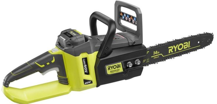 Ryobi Brushless Lithium-Ion Cordless Chainsaw - Battery and Charger Included NEW #Ryobi #Chainsaw #Cordless #Brushless #Tool #PowerTool #Equipment