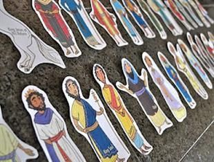 Enhance story time in your Christian or Sunday school classroom with these FREE printable bible figures! The printables include the most noteable bible characters (Jesus, Samuel, Joseph, Adam,...