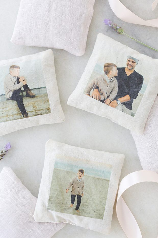 Charming DIY Lavender Sachets with Photos!   www.homeology.co.za  #gift #present #diy #crafts #photo
