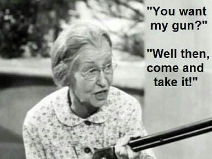 Granny from Beverly Hillbillies is a classic!