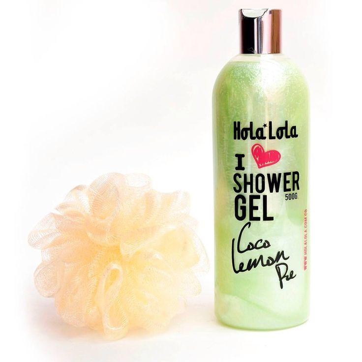 Hola Lola   Coco Lemon Pie  Bath pleasures  Shower Gel   ️️️️www.holalola.com.co.