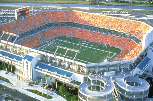 Sun Life Stadium-Home of the #Miami #Dolphins!  And home to The Park Catalog's #Picnic Tables