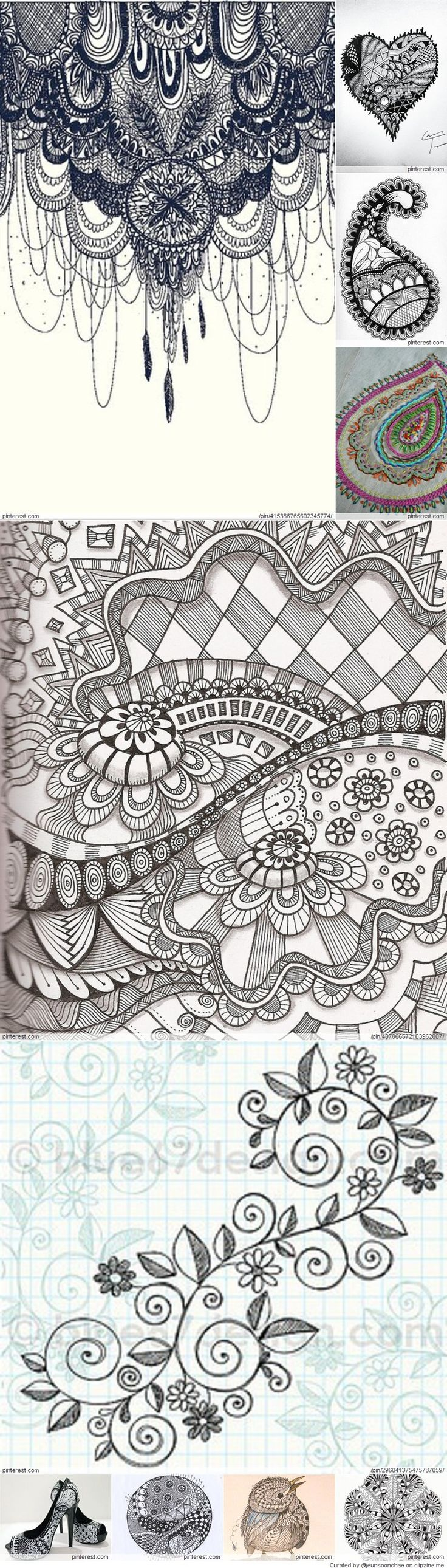 220 Best Doodle It Up Images On Pinterest Watercolor Paintings Origami Dog Diagram Group Picture Image By Tag Keywordpictures Zentangle Designs