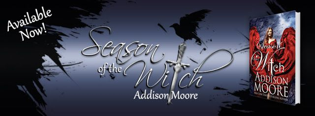 IT'S LIVE!  Season of the Witch by Addison Moore is Finally Here! @AddisonMoore @Kathysuej   Title: Season of the Witch  Author: Addison Moore  Genre: YA Paranormal Romance  Release Date: Oct. 9th  Season of the Witch  (A Celestra Companion)  YOU DO NOT HAVE TO HAVE READ CELESTRA TO ENJOY THIS BOOK  Ezrinas story  1692 Salem Massachusetts  Heathcliff OHare has always had a heart for Ezrina MacHatter.  When hundreds of young girls from the Celestra faction are snatched up by the magistrate as…