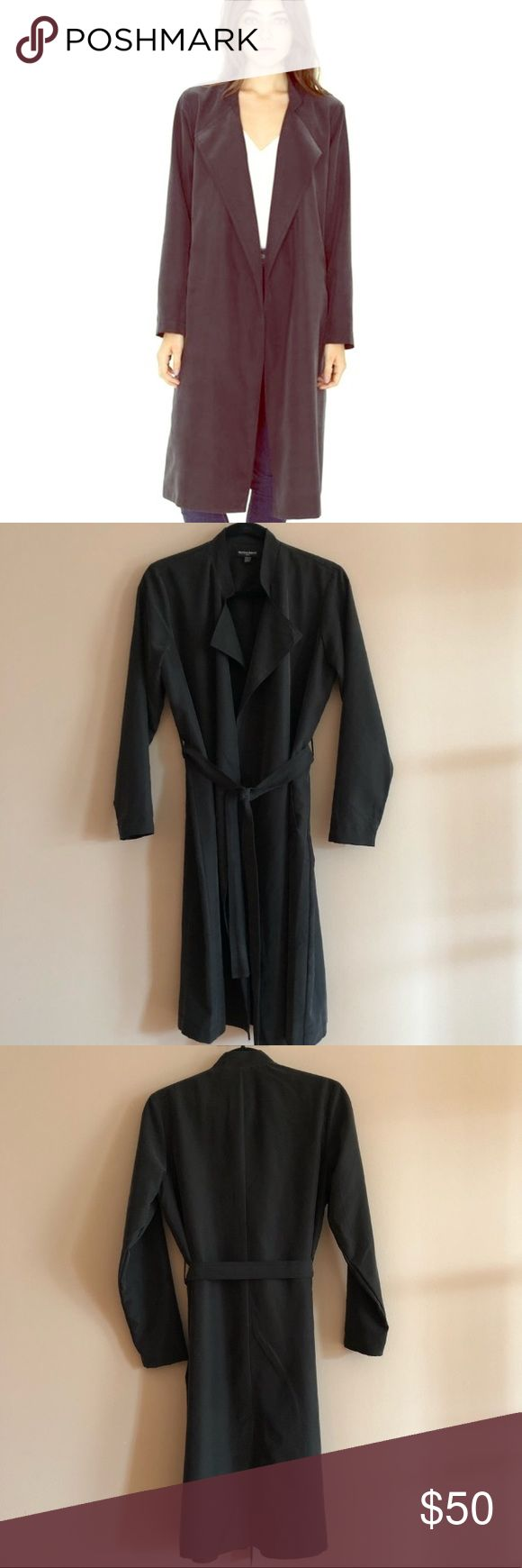 ☀️NWOT American Apparel Dylan Trench-coat🌙 Purchased new from posher. No longer available online. Excellent condition. Charcoal in color. Tried it on when it arrived and felt like I couldn't pull it off. Really sad to see it go 😩 American Apparel Jackets & Coats Trench Coats