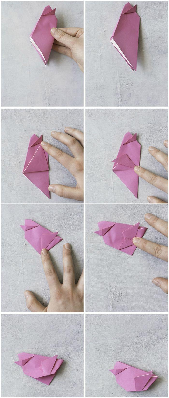 Origami Et Art Du Papier : origami, papier, Idées, Bricolages, Apprendre, L'art, Pliage, Papier, Origami, Facile, Facile,, Origami,, Amour