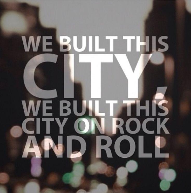 We Built This City - Jefferson Starship