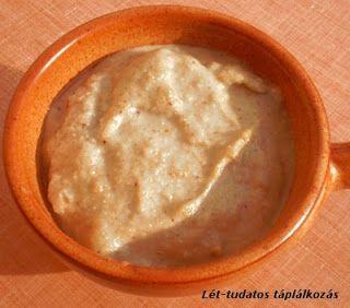 Lét-tudatos konyha: Napraforgó mártás (napraforgó tejföl)