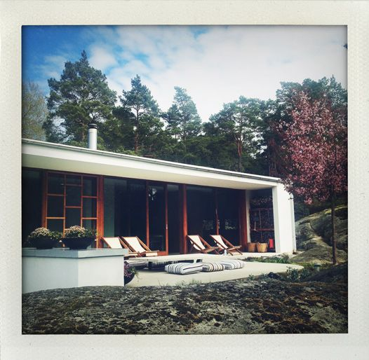 Villa Weekend in the swedish archipelago (Argark at Vindö)