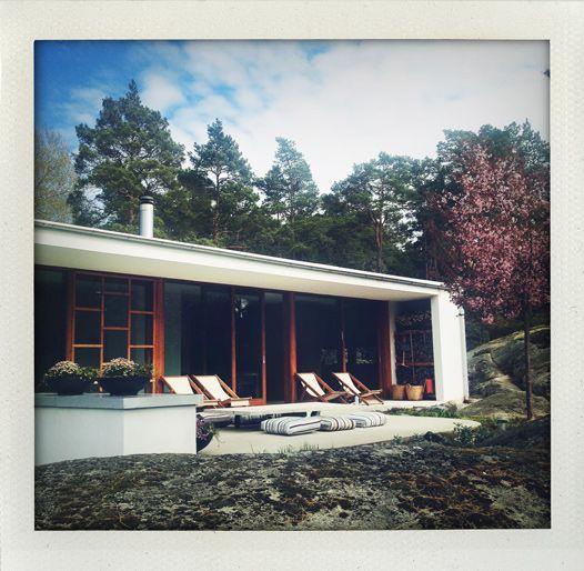 Villa Weekend in the swedish archipelago (Argark at Vindö)