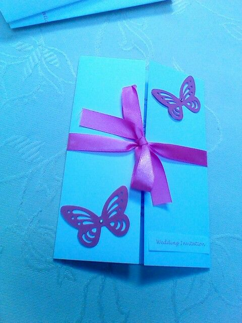 Wedding Invitations available to match any colour scheme