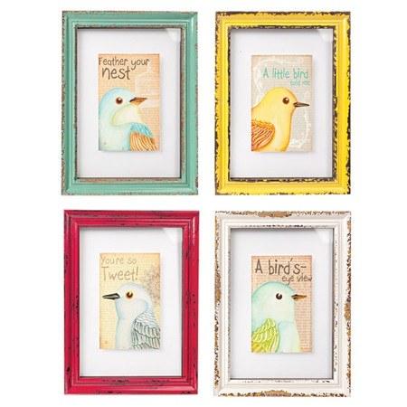 i pinned this 4 piece bird 39 s eye framed wall art set from. Black Bedroom Furniture Sets. Home Design Ideas