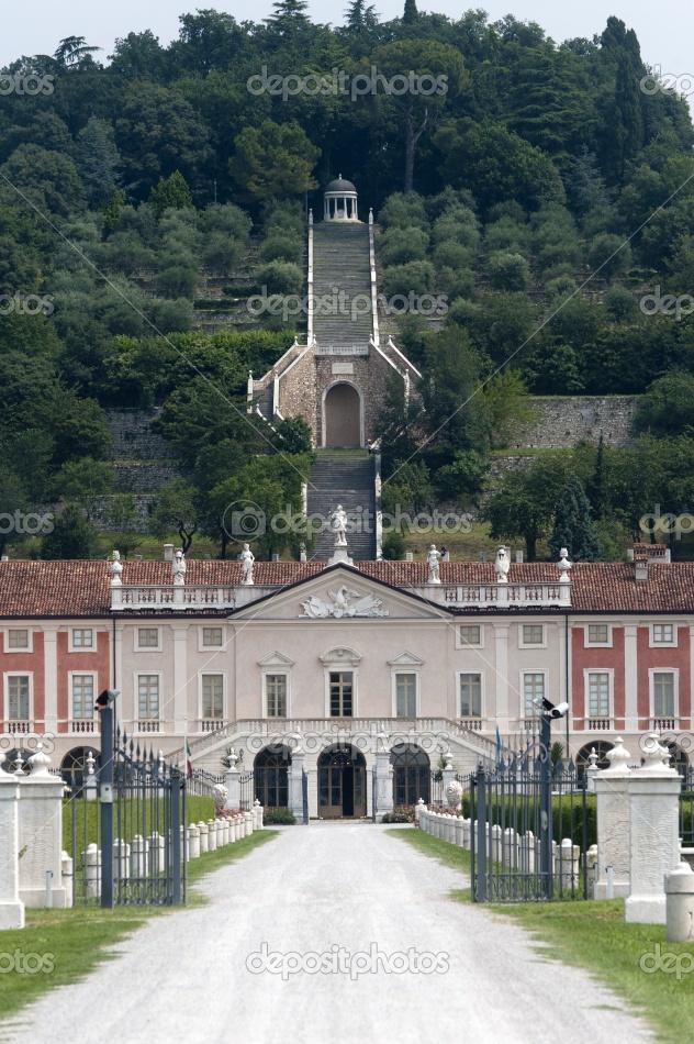 Rezzato (Brescia, Lombardy, Italy): Villa Fenaroli,
