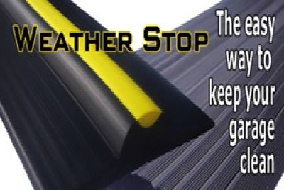 The easy way to stop leaves, rubbish and water getting into your garage!  Also helps to insulate and stop the cold wind blowing under your garage door!