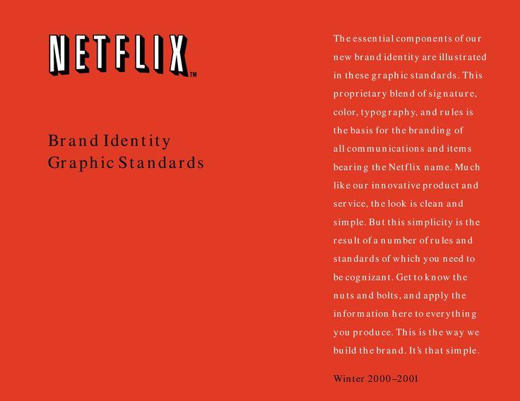 Netflix Style Guide  Netflix  Brand Manuals & Identity Guidelines