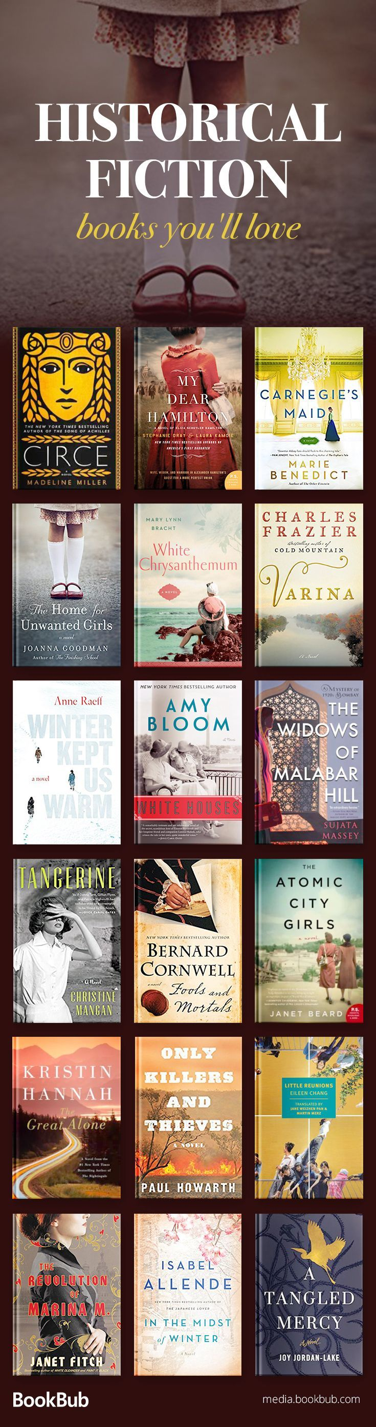 Historical fiction books worth reading in 2018, including WW2 books, books based on true stories, and great books for women and men. Click for the full list of bestselling novels, and for book ideas for book club! #FictionBooks