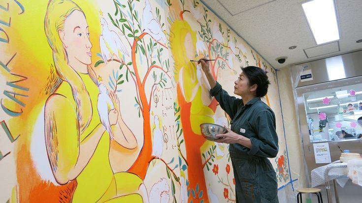西日本初開催! 『山本容子展 アート イン ホスピタル』その4 | 阪急うめだ本店・スタッフブログ