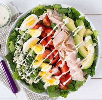 Essayez cette délicieuse recette de Salade Cobb dès aujourd'hui !