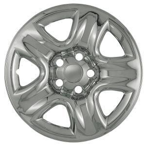 2007 Suzuki Grand Vitara Imposter Wheel Skin:  Description:Imposter Wheel Skin, 16 In.,   For Styled Steel Wheel,   5 Dimpled Spokes  Dimensions:17.33x6.00x17.33  Fits:  2005 Suzuki Grand Vitara LX  2005 Suzuki Grand Vitara EX  See more applications  Finish:Chrome  Part No: IMP-42X  Price: $49.95