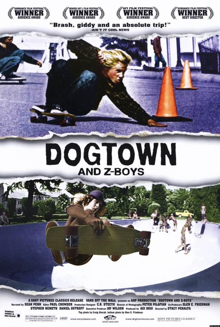 Dogtown and Z-Boys. One of the best documentaries I've ever seen