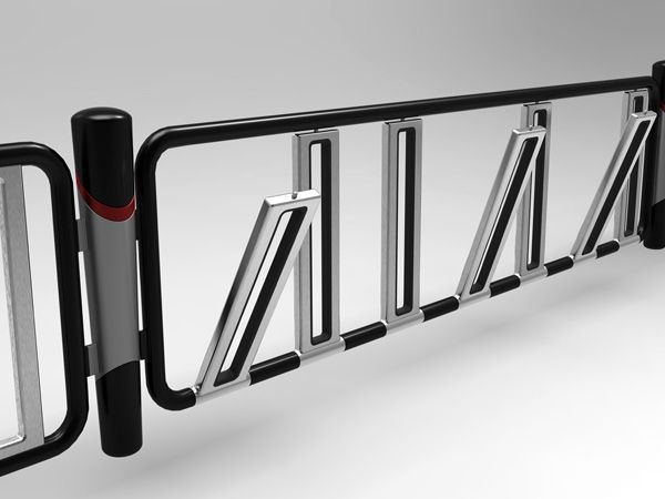 Fence bicycle parking