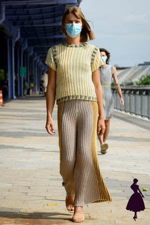 Eckhaus Latta y la pasarela hippie chic ¡saca ideas! Knitwear Fashion, Crochet Fashion, Fashion News, Fashion Show, Fashion Design, Fashion Trends, Runway Fashion, Fashion Women, Vogue Paris