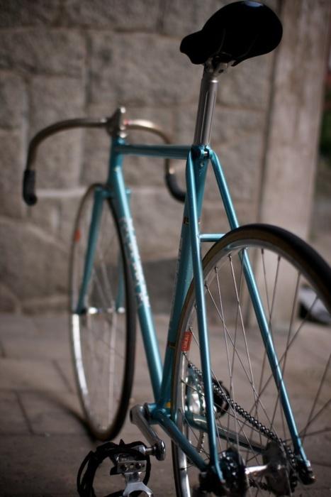 Track bike, classic.