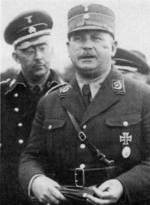 The Reichsführer of Schutzstaffel (SS) Heinrich Himmler & the Commander of Sturmabteilung (SA) Ernst Röhm & the conflict of interest .